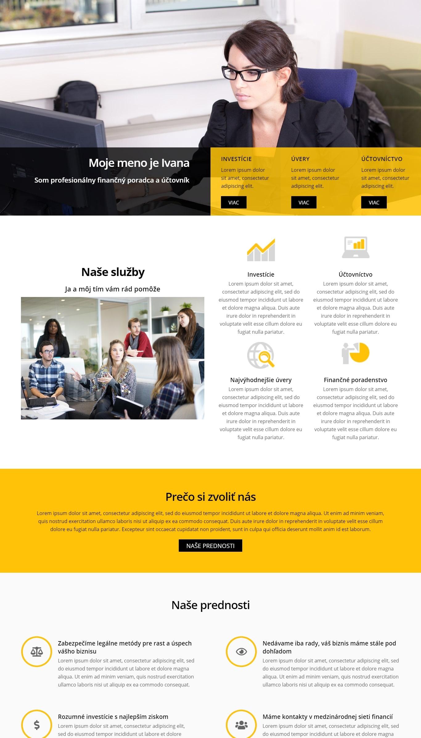 biznis webstranky