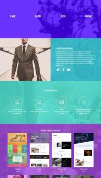 osobné webstránky cv