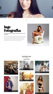 web pre fotografa