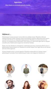 web pre služby