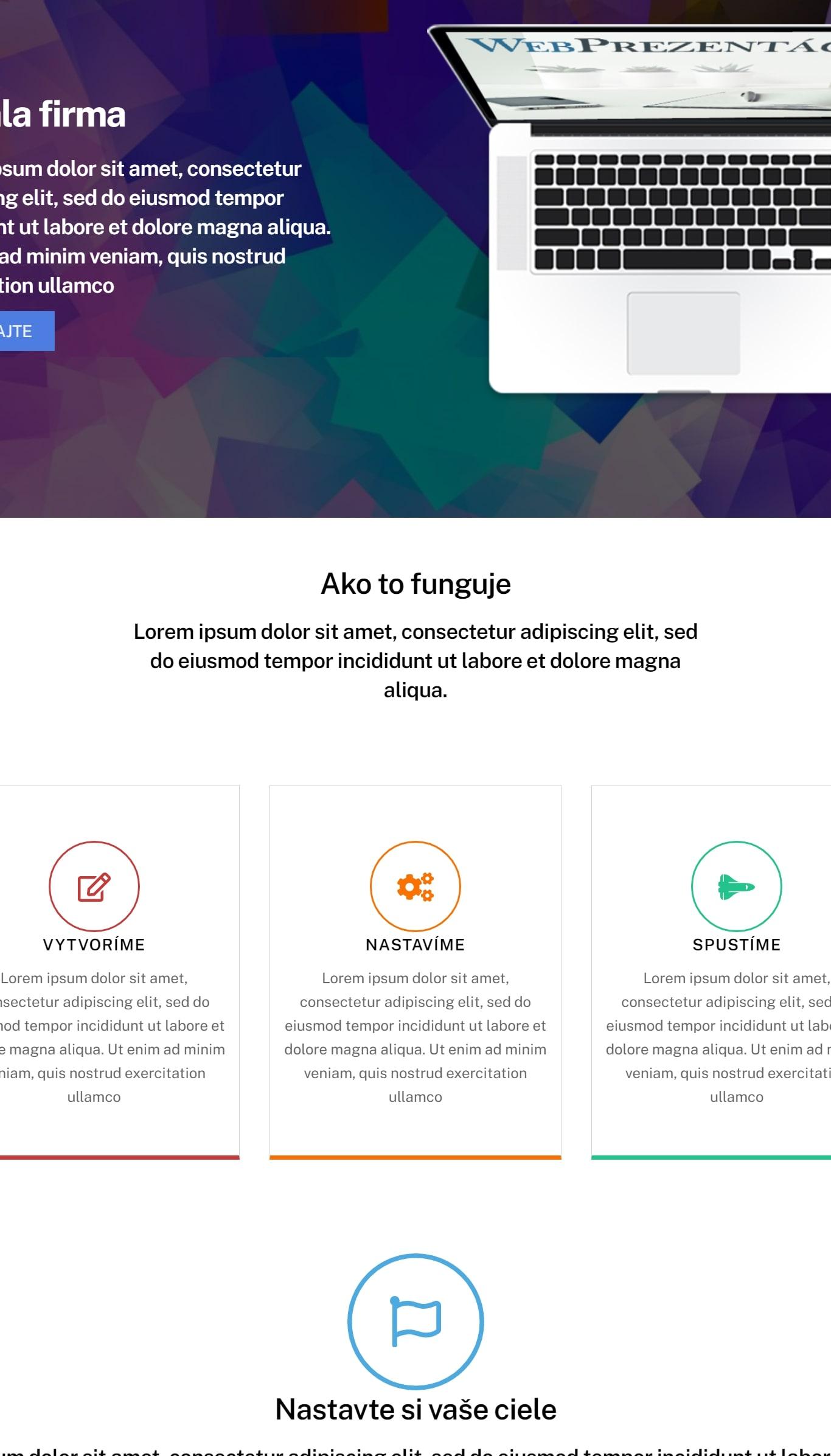 webstránky pre spolocnosť