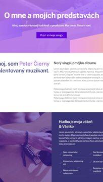 osobný web