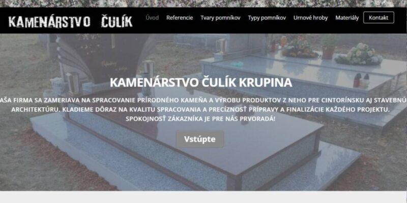 kamenarstvoculik.sk